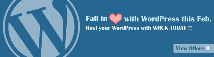 WHUK's WordPress Hosting for February