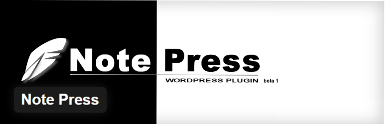 note-press