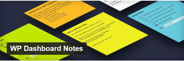 wp-dashboard-notes