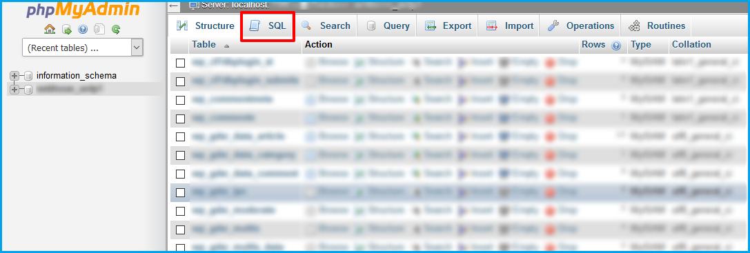 How to Create a New Admin Account in WordPress via MySQL